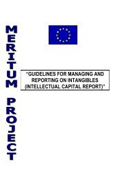 guidelines for managing and reporting on intangibles (intellectual