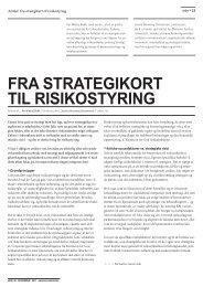 Fra strategikort til risikostyring - Per Nikolaj Bukh, professor i ...