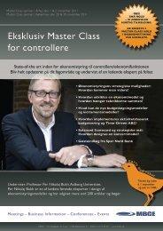Eksklusiv Master Class for controllere - Per Nikolaj Bukh, professor i ...