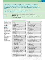 COPD - Deutsche Gesellschaft für Pneumologie