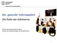 Frau PD Dr. Claudia Steurer-Stey