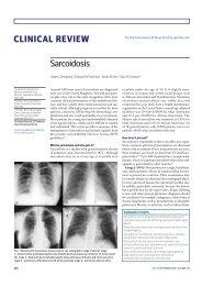CliniCal Review sarcoidosis