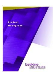 Product Monograph