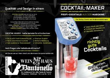 cocktailmaschineprofi-Cocktails aus der Maschine Für Partys