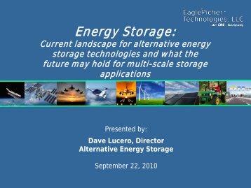 General EPT Li-Ion presentation