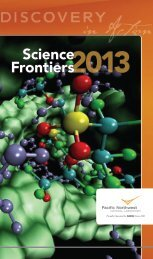 Science Frontiers - Pacific Northwest National Laboratory