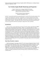Gas Turbine Engine Health Monitoring and Prognostics - Pacific ...