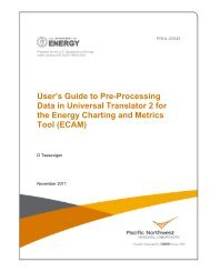 User's Guide to Pre-Processing Data in Universal Translator 2 for ...
