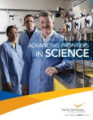 latest brochure - Pacific Northwest National Laboratory