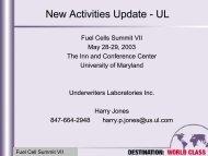 UL Update: Harry Jones, Underwriters Laboratory