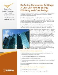 Re-Tuning Commercial Buildings - Pacific Northwest National ...