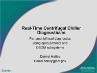 Real-Time Centrifugal Chiller Diagnostician