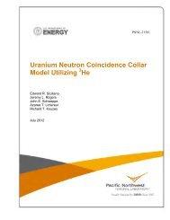 Uranium Neutron Coincidence Collar - Pacific Northwest National ...