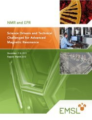 Science Drivers and Technical Challenges for Advanced Magnetic ...