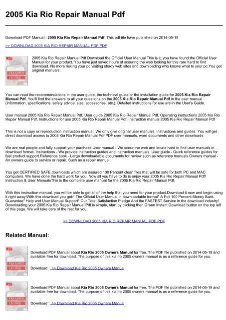 free repair manuals download