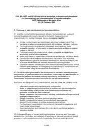 ISO/IEC/NIST/OECD Workshop: FINAL REPORT June 2008 ...