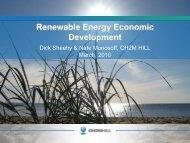 Renewable Energy Economic Development