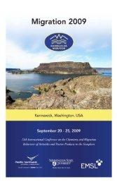 Final Migration Program - Pacific Northwest National Laboratory