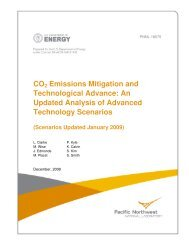 An Updated Analysis of Advanced Technology Scenarios - Pacific ...