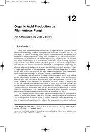 Organic Acid Production by Filamentous Fungi - Pacific Northwest ...