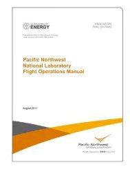 Flight Operations Manual - Pacific Northwest National Laboratory