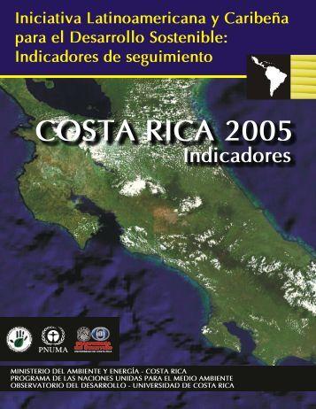 Indicadores de seguimiento Costa Rica 2005 - Programa de ...