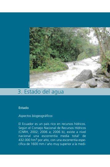 05. Capítulo 3. Estado del agua.pdf - Programa de Naciones Unidas ...