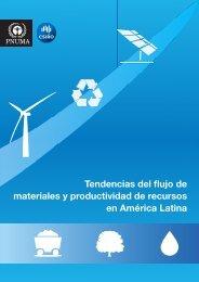 Tendencias del flujo de materiales y productividad de ... - UNEP