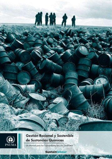 Gestión racional y sostenible de sustancias químicas: un manual ...