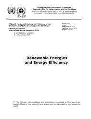 Renewable Energies - Programa de Naciones Unidas para el Medio ...