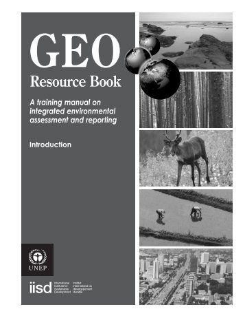 GEO Resource Book - Programa de Naciones Unidas para el Medio ...