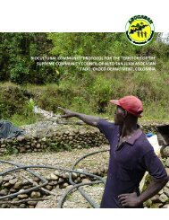 biocultural community protocol for the territory of the supreme ...