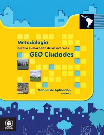 PNUMA GEO CIUDADES GUIA - Programa de Naciones Unidas ...