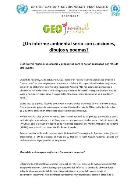 âun Informe Ambiental Serio Con Canciones Dibujos Y Poemas