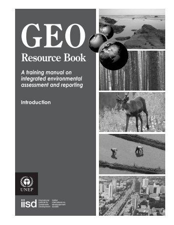 GEO Resource Book - Programa de Naciones Unidas para el Medio ...