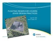 FLOATING RESERVOIR COVERS GOOD DESIGN ... - PNWS-AWWA