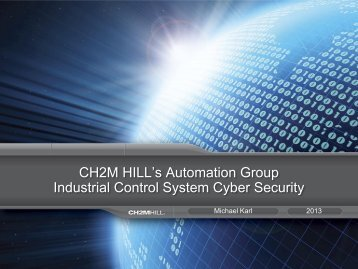 Industrial Control System Cyber Security - PNWS-AWWA