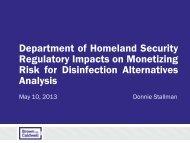 Department of Homeland Security Regulatory ... - PNWS-AWWA