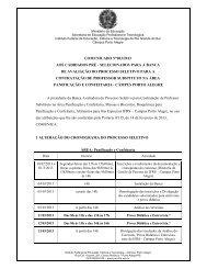 Comunicado nº 003/2013 - IFRS Câmpus Porto Alegre