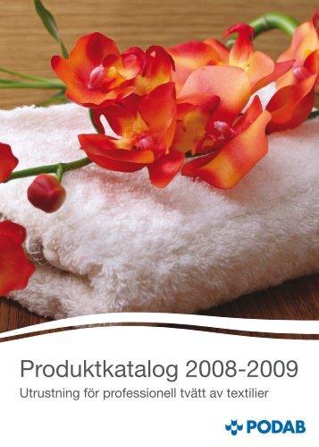 Produktkatalog 2008-2009 - Podab