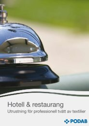 Hotell & restaurang - Podab