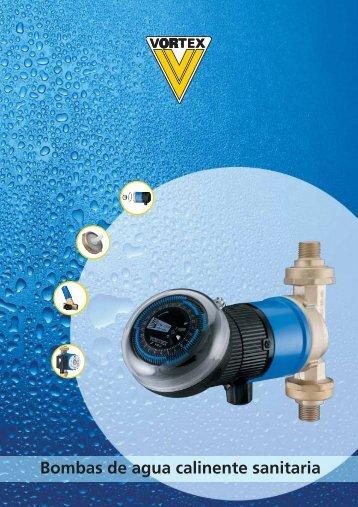 Bombas de agua calinente sanitaria - Deutsche Vortex Gmbh & Co ...