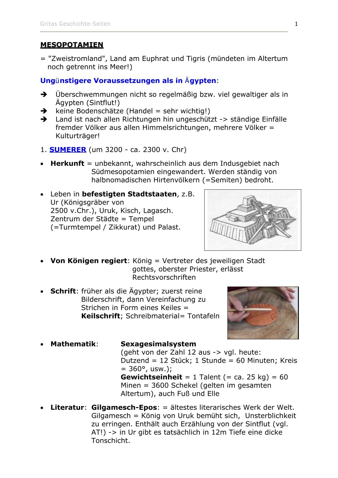Atemberaubend Gilgamesch Epos Arbeitsblatt Galerie - Mathe ...