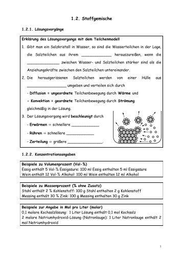1.2. Stoffgemische - Poenitz-Net