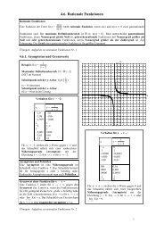 4.6. Rationale Funktionen - Poenitz-Net