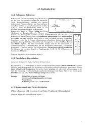 4.2. Kohlenhydrate - Poenitz-Net
