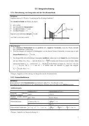 5.5. Integralrechnung - Poenitz-Net