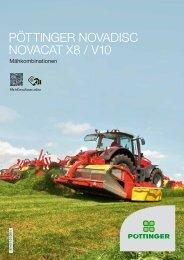 NOVADISC/NOVACAT X8 / V10 Mähkombinationen - Alois Pöttinger ...