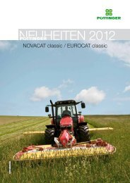 NEUHEITEN 2012 - Alois Pöttinger Maschinenfabrik GmbH
