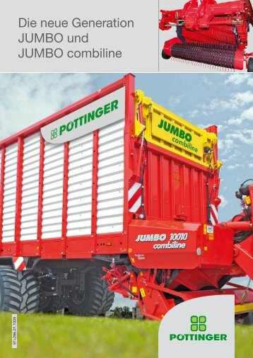 JUMBO neue Generation - Alois Pöttinger Maschinenfabrik GmbH